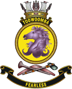 HMAS Toowoomba Badge